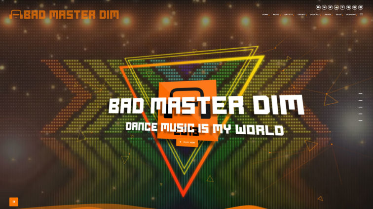 Bad Master Dim Website